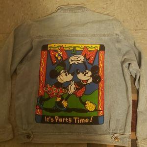 Vintage Mickey and Co Denim Jacket M